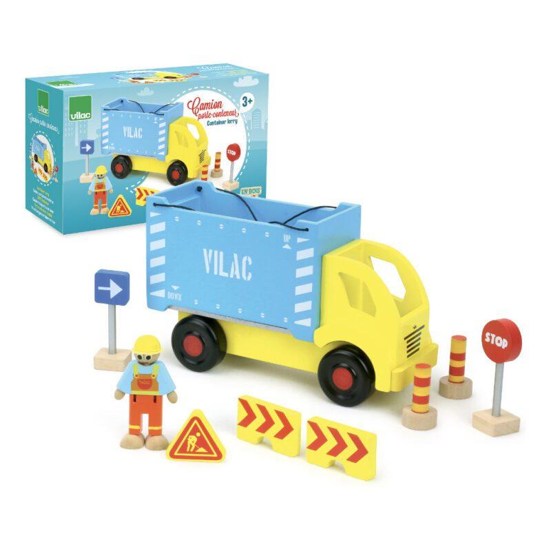 Containervrachtwagen Vilac Vilacity Doos vila-2347