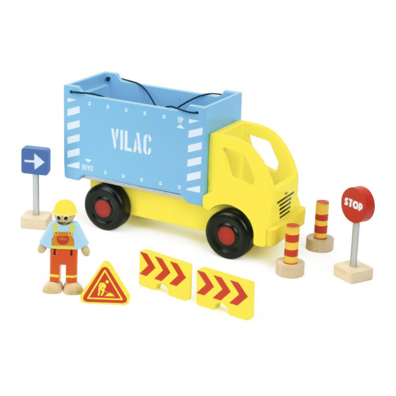 Containervrachtwagen Vilac vila-2347
