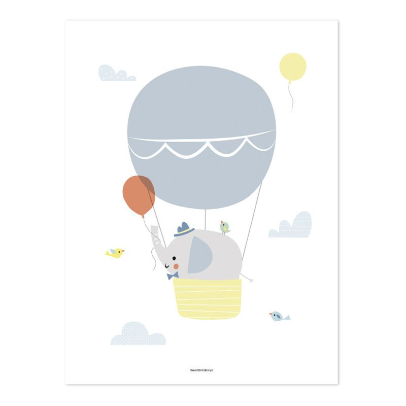 Goede Reis Poster | Up! | Lilipinso