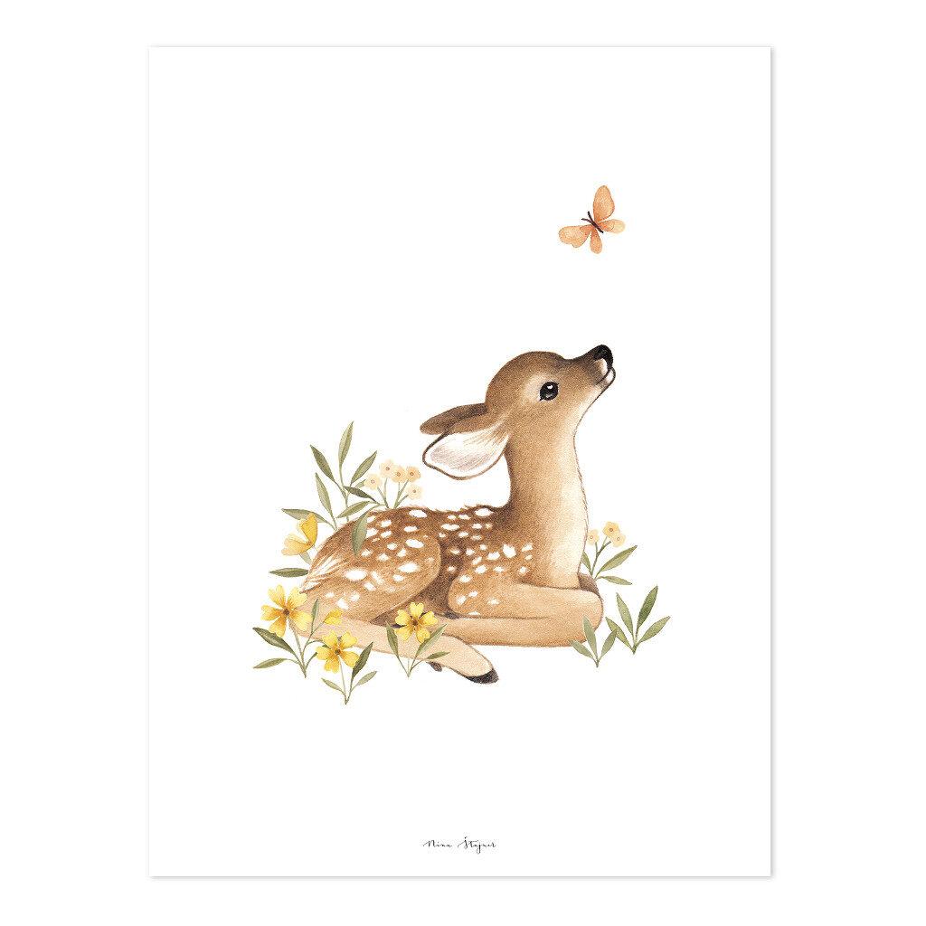 Hertenjong Poster | Oh Deer | Lilipinso