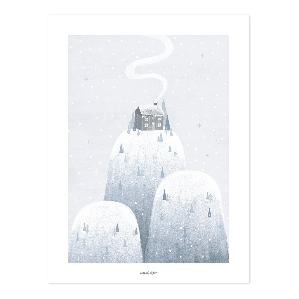 In De Berg Poster | Arctic Dream | Lilipinso