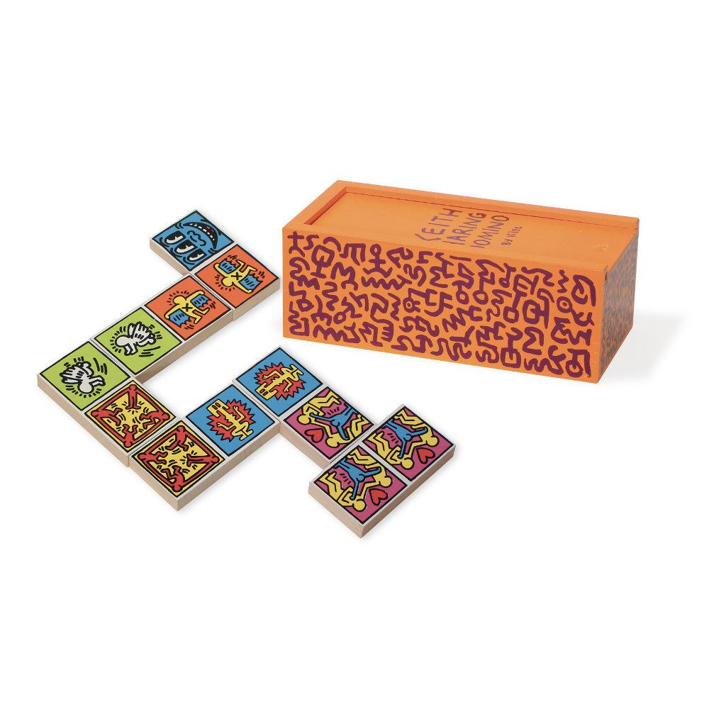 Kleur Domino's Spel Keith Haring Vilac vila-9266