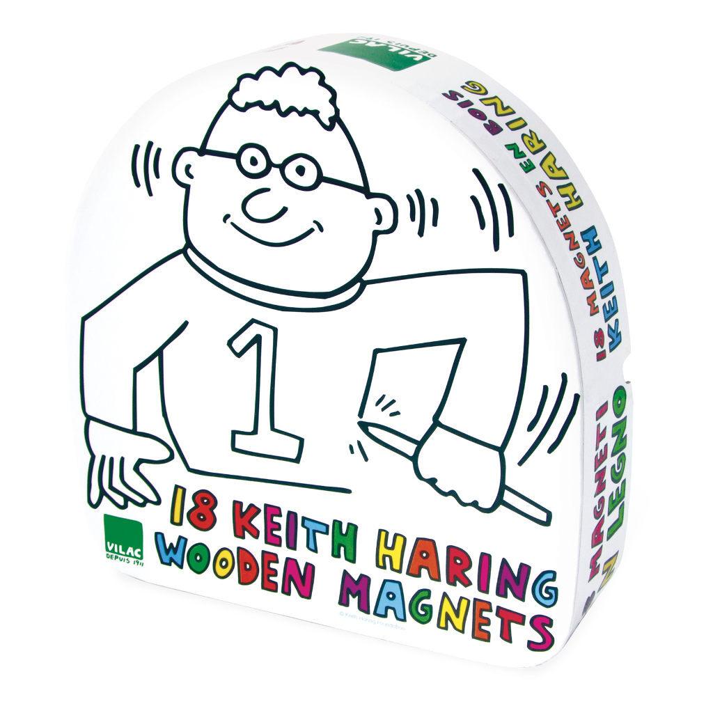 Magneten Keith Haring Vilac Doos Verpakking Verzameling vila-9262.jpg