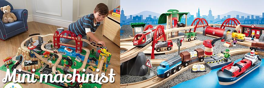 Trein speelgoed hout