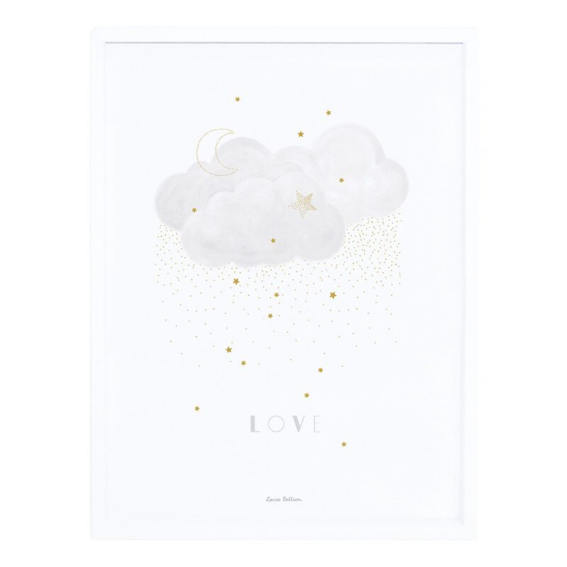 Sweet Love Grey Poster | Stardust | Lilipinso