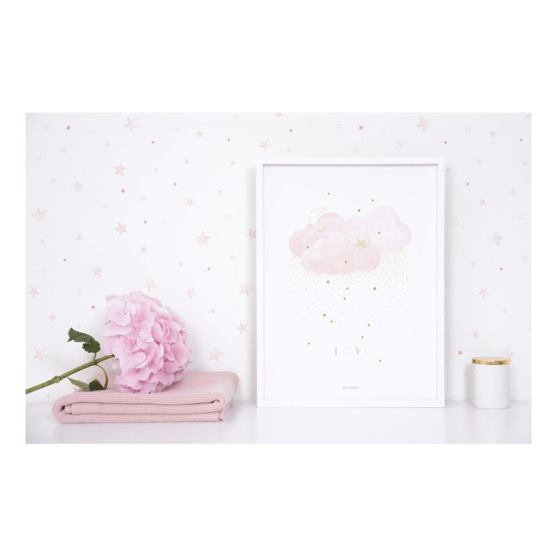 Sweet Love Pink Poster   Stardust   Lilipinso
