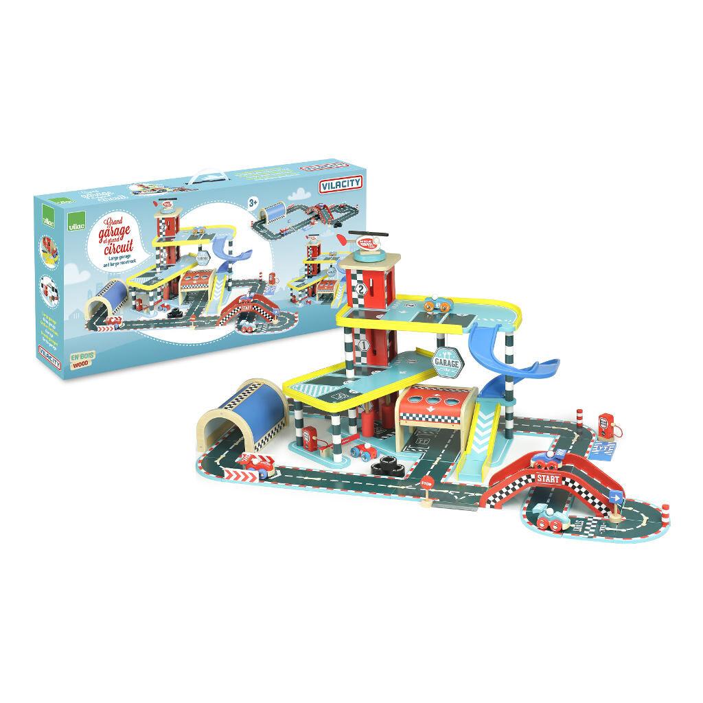 Vilacity Garage Compleet Groot Circuit Vilac Doos Raebaan vila-2339