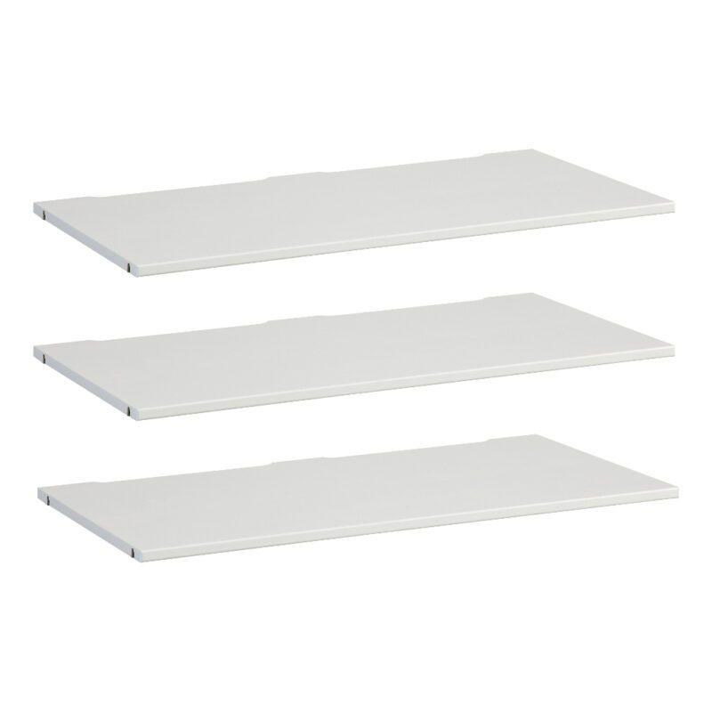 3X Legplank Onderdeel Kledingkast 100 Cm Wit Lifetime Kidsroom life-9532-10