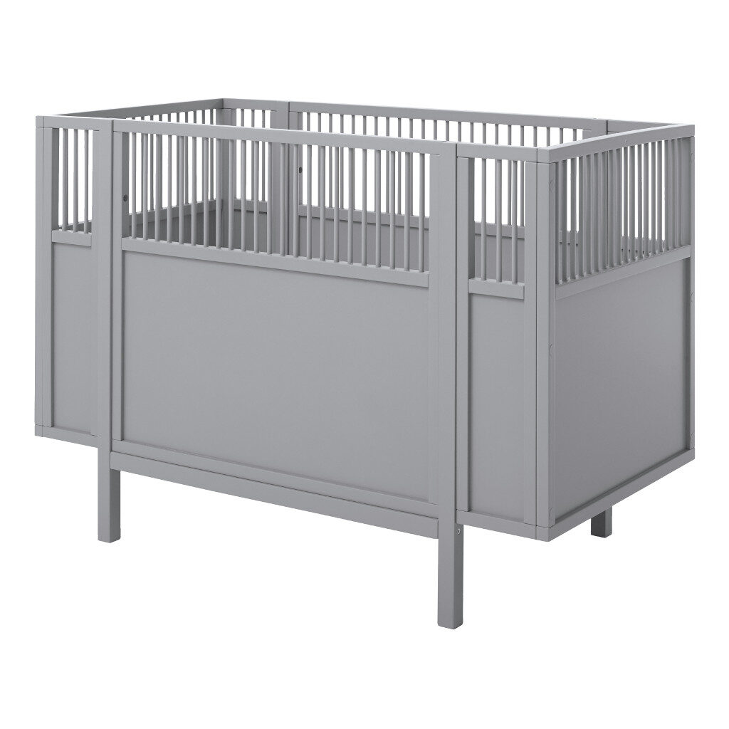 Babyledikant Grijs 60X120 Lifetime Kidsrooms life-7022