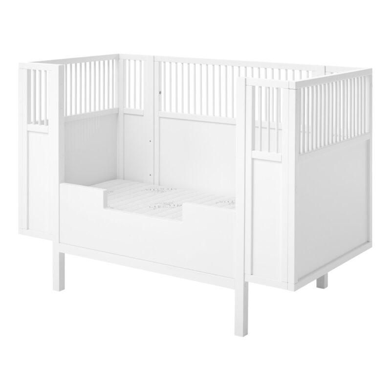 Babyledikant Wit 60X120 Met Rand Lifetime Kidsrooms life-7020 life-7021
