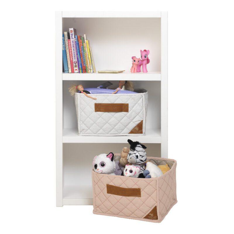 Boekenkast 3-Vaks 8020 Wit Lifetime Kidsroom Kinderkamer Babykamer Opbergkast life-8020