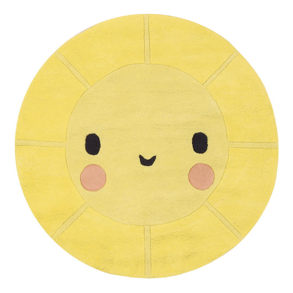 Emoji Zon Vloerkleed Up! Lilipinso lili-h0527