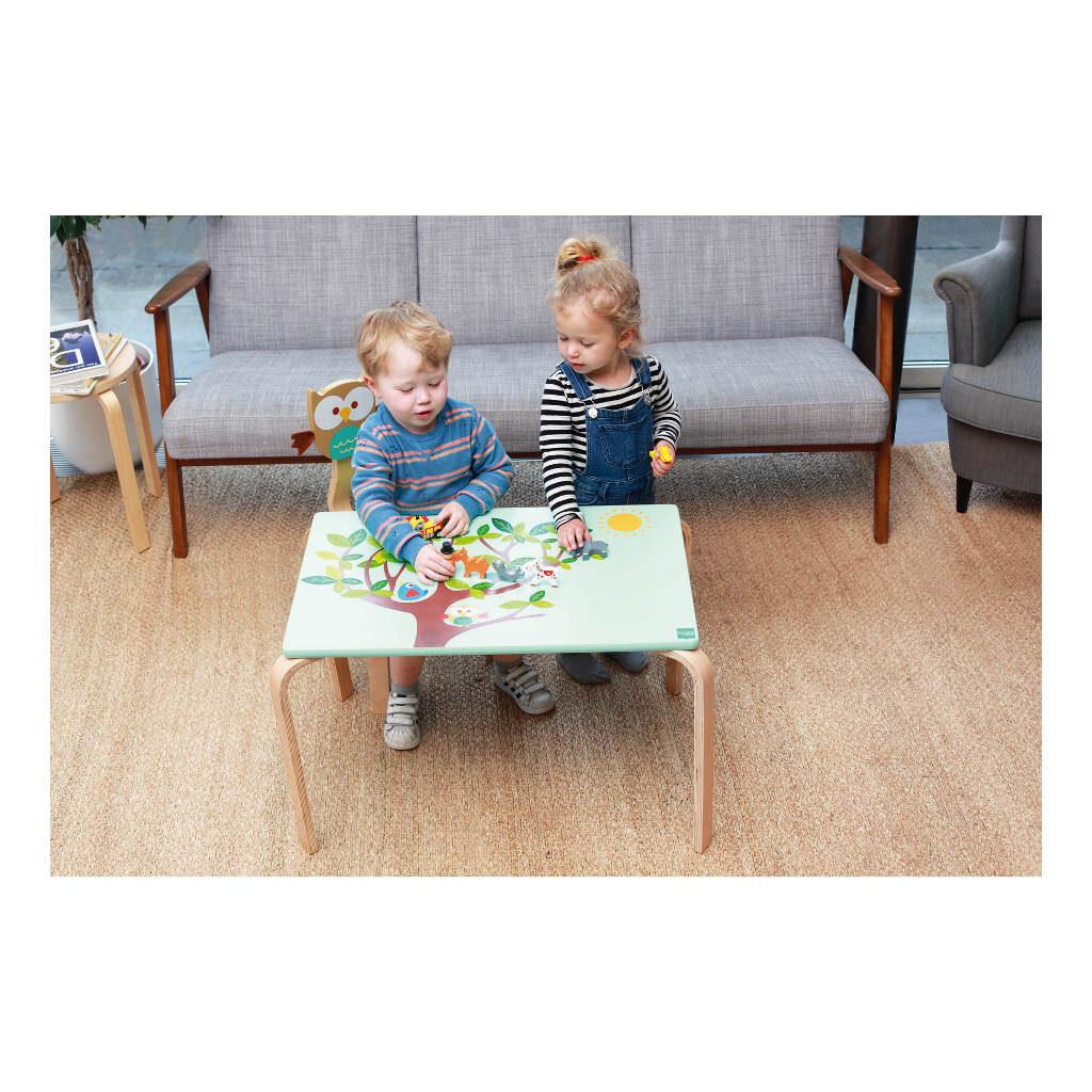 Houten Kindertafel Uil Scratch Nieuw Design Scra-6182323