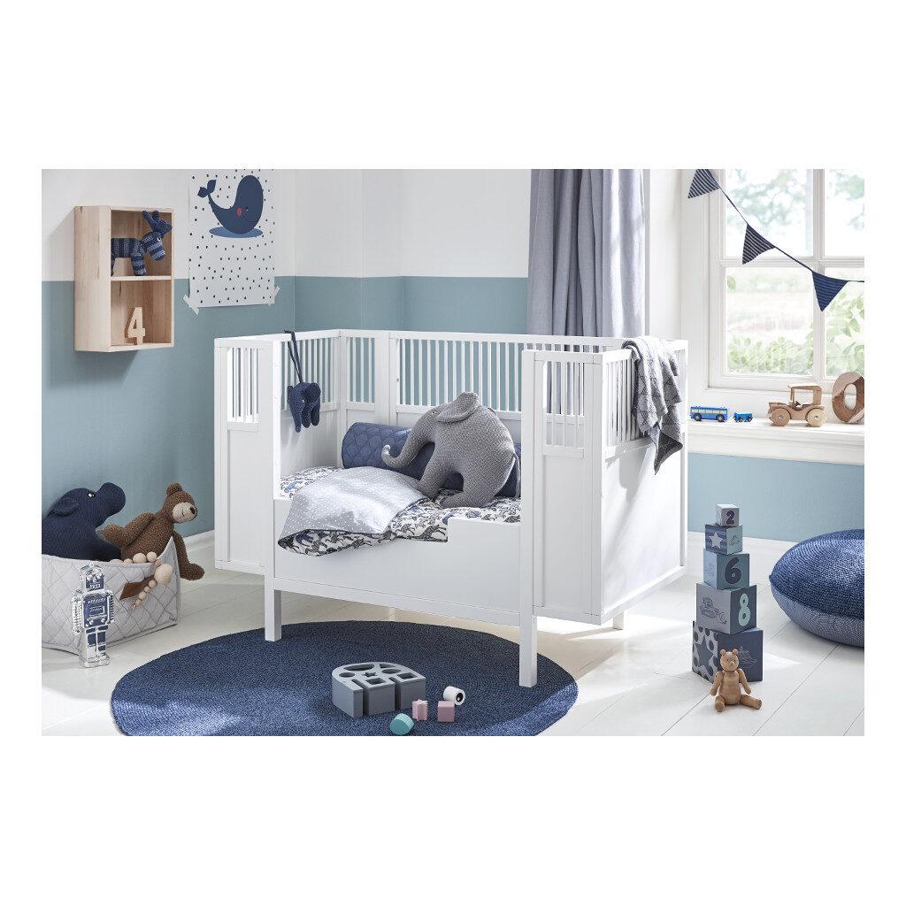 Kinderkamer Babyledikant Wit 60X120 Lifetime Kidsrooms life-7020