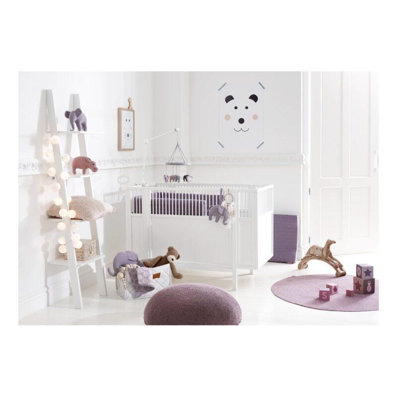 Kinderkamer Inrichting Babyledikant Wit 60X120 Lifetime Kidsrooms life-7020