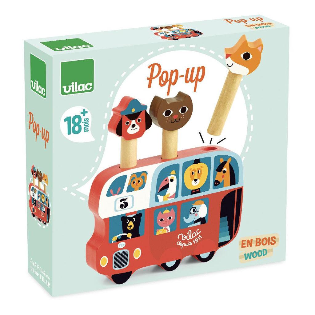 Pop-Up Bus Vilac Doos Verpakking vila-7751