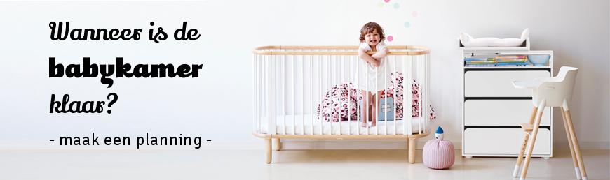 Wanneer moet de babykamer klaar zijn?