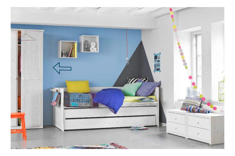 Kajuitbed Wit Met Logeerbed En Bedlade Lifetime Kidsrooms Meegroeibed Ombouw Met Lade Qiddie.com life-47109-10