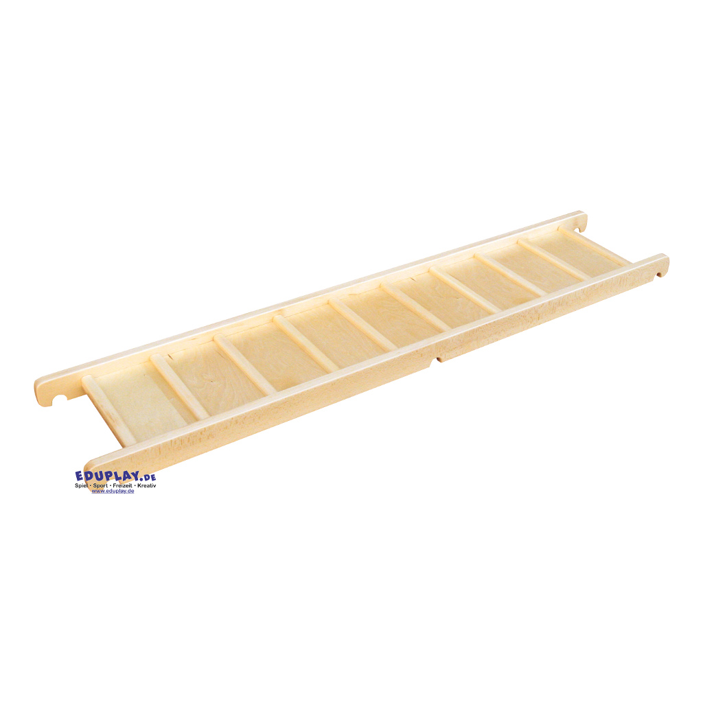 Klimrek Hout Loop Plank 190 cm Brug Element Gymzaal QIDDIE.com edup-170345
