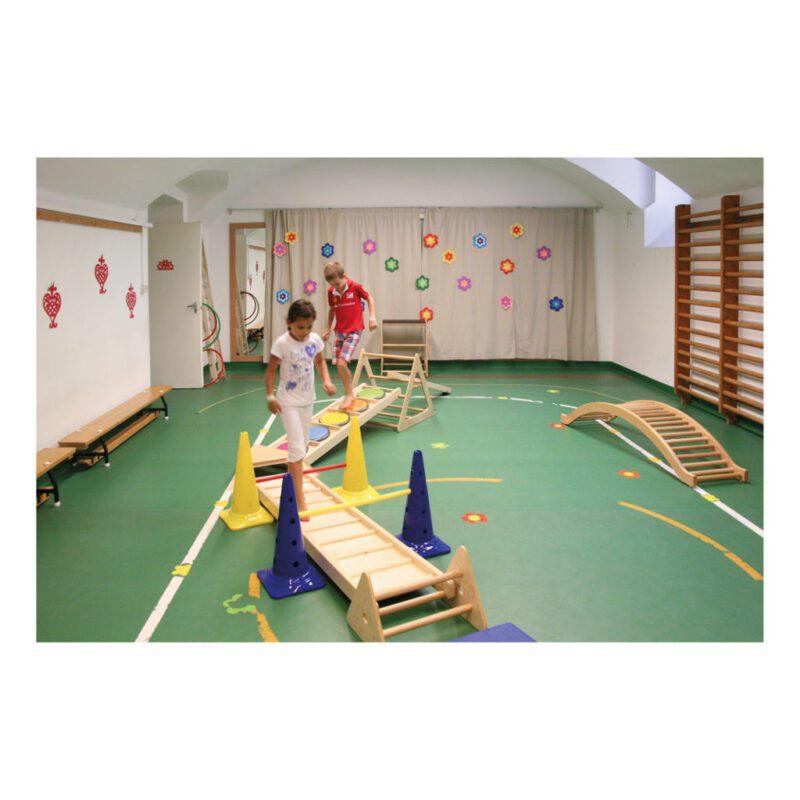 Klimrek Hout Touwladder Bewegen Oefenen Lichamelijke beweging QIDDIE.com edup-170350