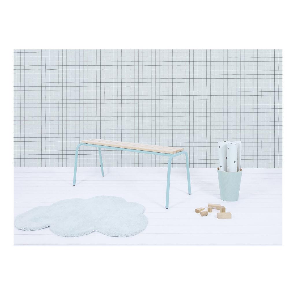 Behang Grid Morning Mist Minima Lilipinso Ruimte Vergroten Overzichtelijk QIDDIE.com lili-H0618