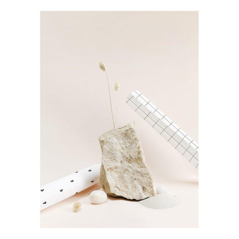 Behang Grid Wit Zwart Minima Lilipinso Combinatie Mogelijkheden Neutraal Tijdloos Baby Peuter Kleuter Tiener Doorgroei Behangrol QIDDIE.com lili-H0615