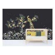 Behang Pauw In Eeuwigheid Floral Peacock Lilipinso Babykamer Kinderkamer Huiskamer Muurbehang Wall Design QIDDIE.com lili-H0606