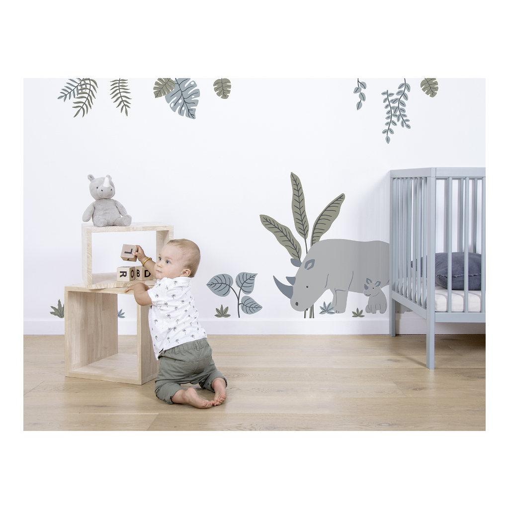 Bladeren Muursticker Xl Tanzania Lilipinso Muur Beplakken Versieren Kinder Peuter Baby Huiskamer Slaapkamer QIDDIE.com lili-S1401
