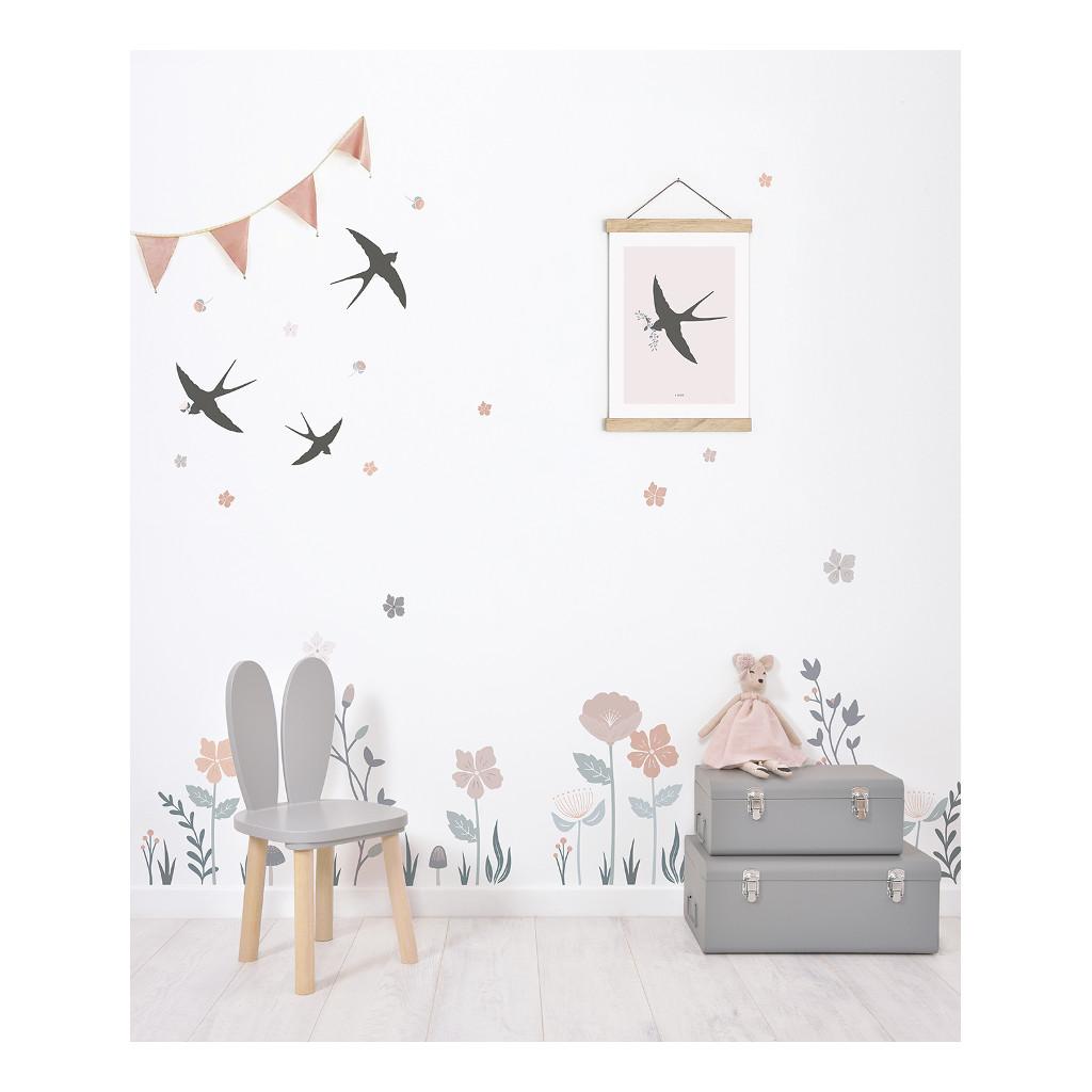 Grote Bloemen Muursticker Xl Bloom Lilipinso Kinder Baby Speel Kamer Muur Decoratie QIDDIE.com lili-S1370