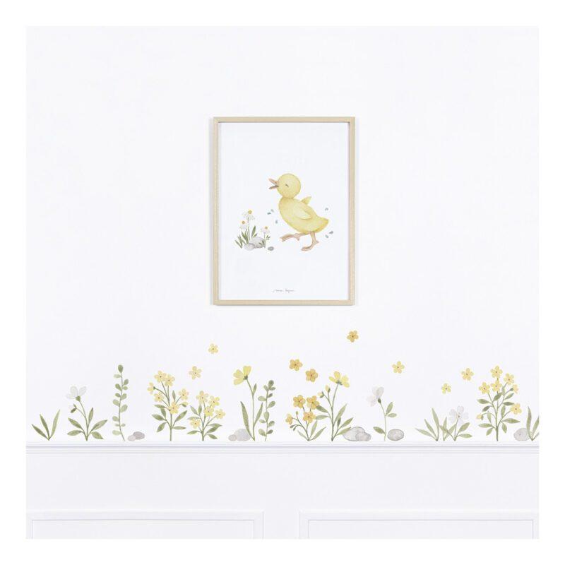 Kuikentje Poster Lucky Ducky Lilipinso Schilderij Lijst Kinderkamer Jongen Meisje Kinderkamer Speelkamer Dier QIDDIE.com lili-P0303C