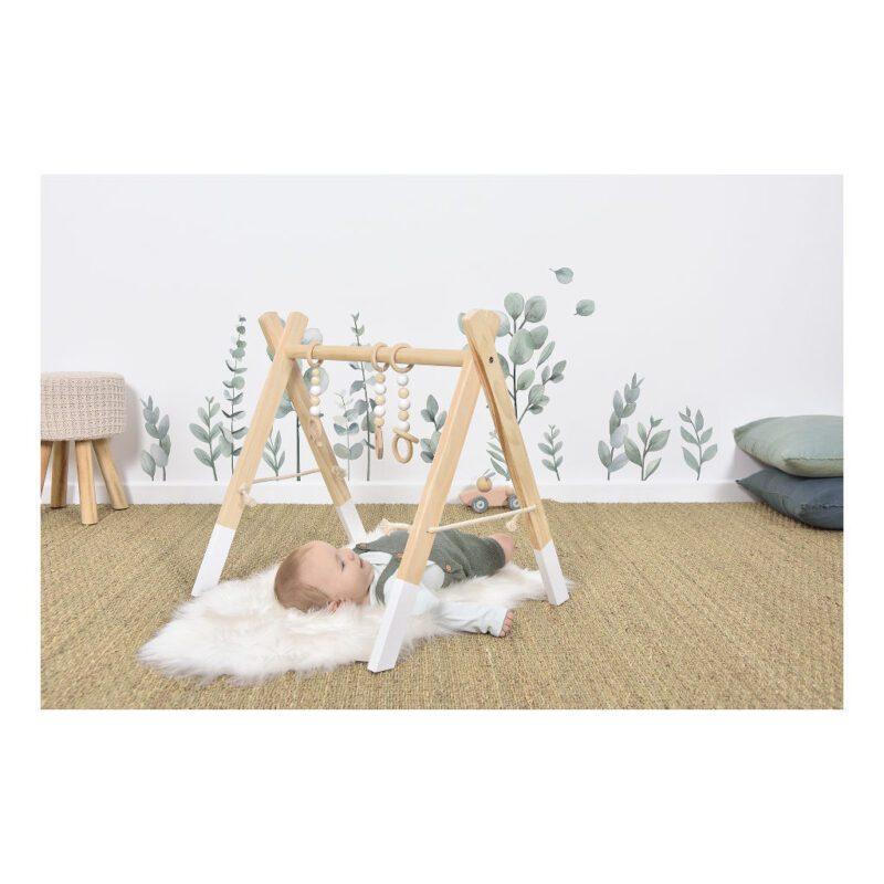 Loof Muursticker Xl Greenery Lilipinso Baby Kinder Speel Huis Kamer QIDDIE.com lili-S1381