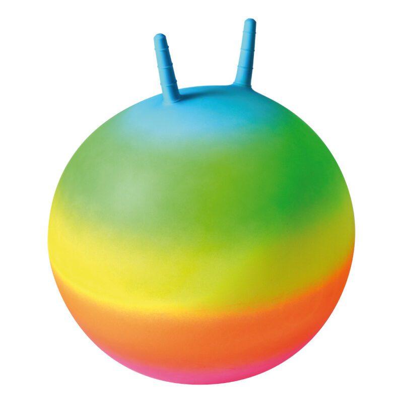 Skippybal Regenboog 50 Cm Multicolour Regen Boog Kleur Peuter Kleuter Jumping Ball QIDDIE.com edup-170388