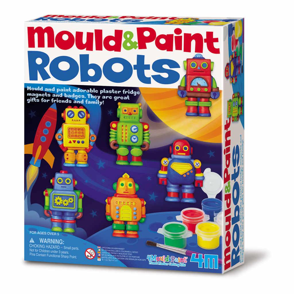 Robots Gieten En Verven 4M 4msp-5604653