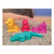 3D Zandvormen Set 4 Stuks Klein Dieren Vorm Zandbak Strand Kinetic Sand Kind Peuter Kleuter QIDDIE.com edup-160184