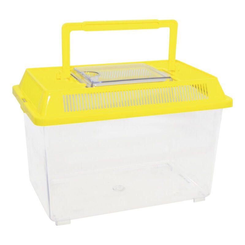 Insecten Box 2 Stuks Geel kunststof Insect Vervoeren Bewaren Meenemen Onderzoeken QIDDIE.com edup-150004