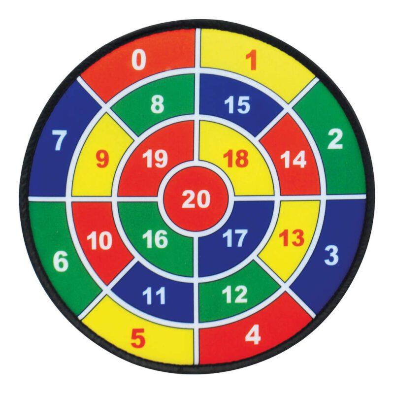 Klittenband Dartbord Set Van 3 Grote Kleine Doelen Kleef Dartbord Klitterband Gooien QIDDIE.com edup-170268