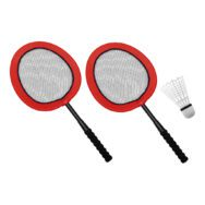 Mega Badmintonrackets Set Van 2 Peuter Kleuter Kind Spelen Sport Tennis QIDDIE.com edup-170175