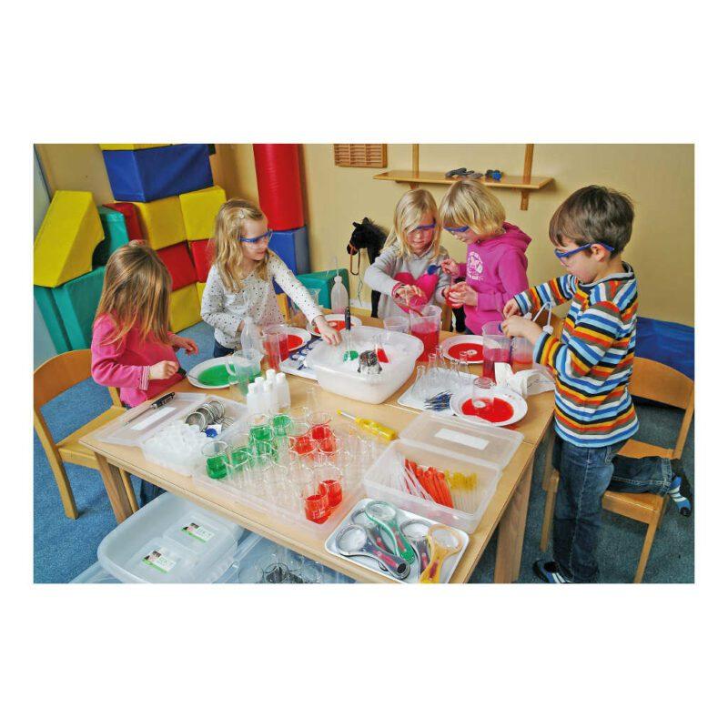 Natuurwetenschap Onderzoek Set School Onderwijs Kind Onder Toezicht Uitgebreid Pakket QIDDIE.com edup-120416