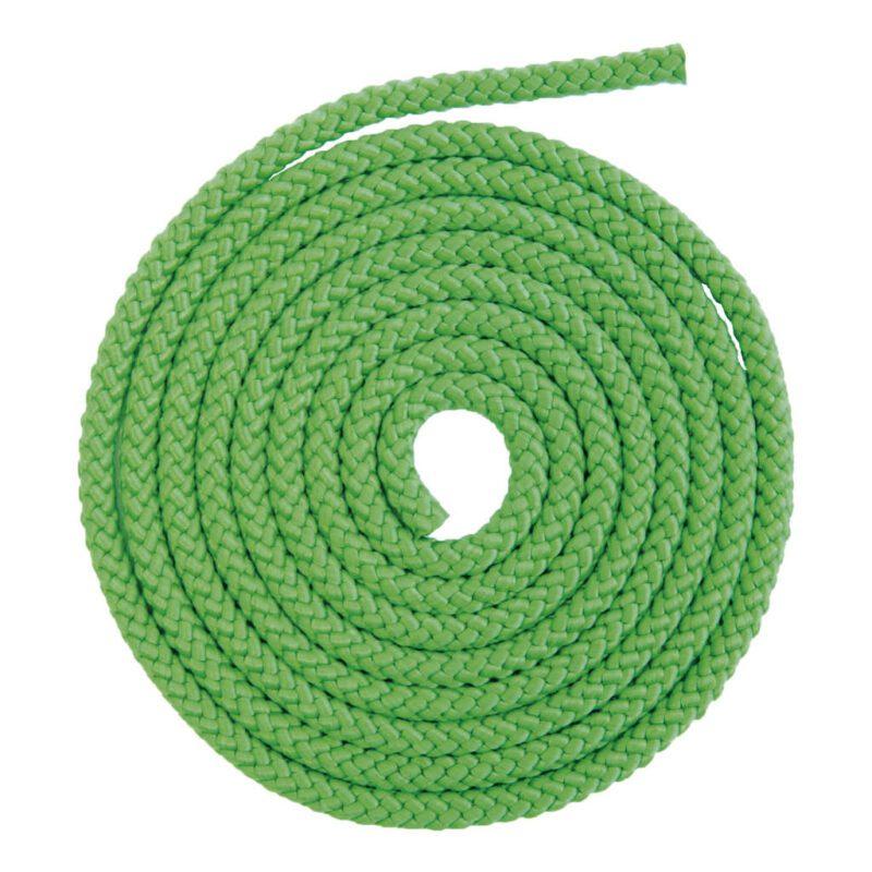 Set Van 4 Uni Touw 2,5 Meter Springtouw Groen 2500 Cm Kind Peuter Kleuter QIDDIE.com edup-170076