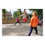 Springelastiek 5 Meter Samen Spelen Bewegen Kind Kleuter Springen Buiten Spelen QIDDIE.com edup-170165
