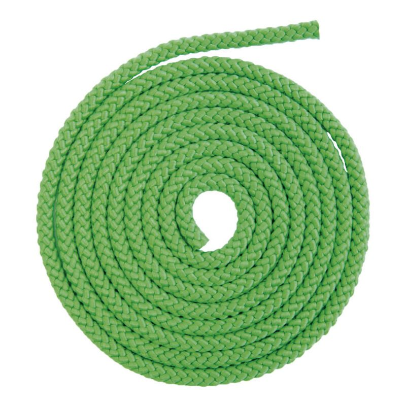 Uni Touw 2,5 Meter Springtouw Groen 2500 Cm Kind Peuter Kleuter QIDDIE.com edup-170025
