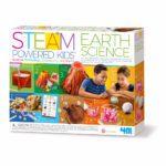 Aarde Wetenschap 3 In 1 4M Steam Powered Kids Earth Science Ontdek Pakket Jongen Meisje 4msp-5605538