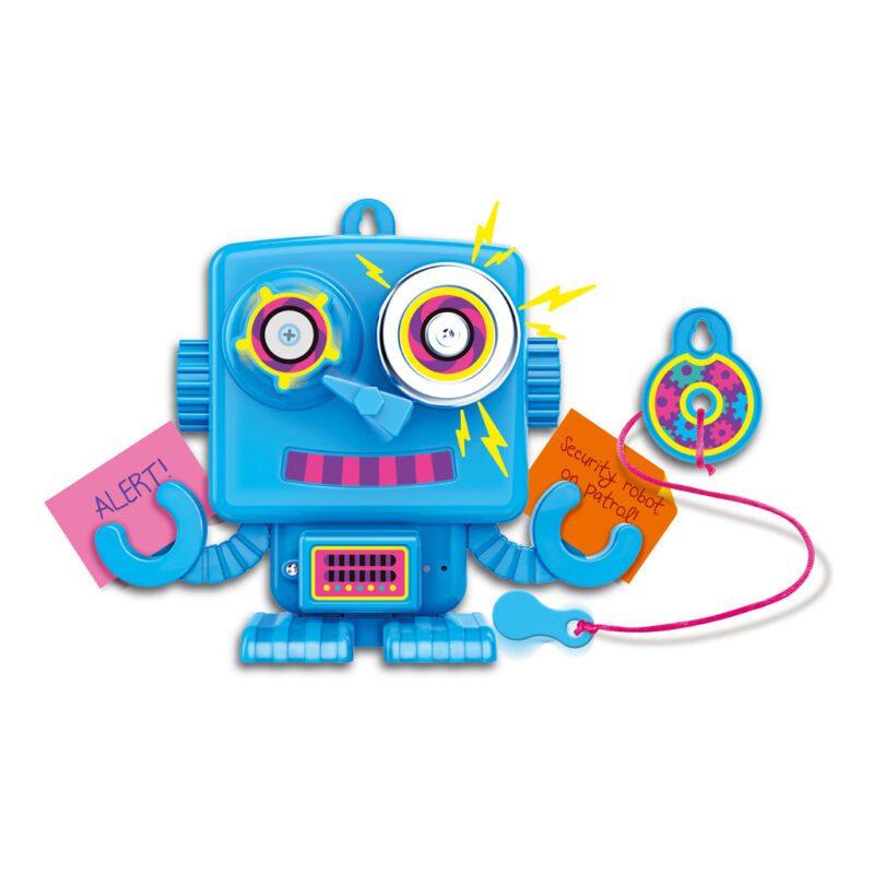 Alarm Robot Maken 4M Alarm Geluid Met Batterij Kado Cadeau Meisjes Jongens Speels 4msp-5604900