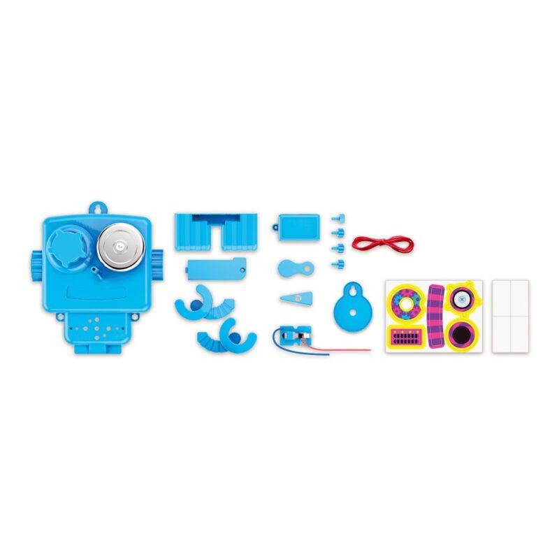 Alarm Robot Maken 4M Girls Meisjes Inhoud Doos Verpakking Steam Powered 4M Speelgoed Ontdekken Bouwen 4msp-5604900