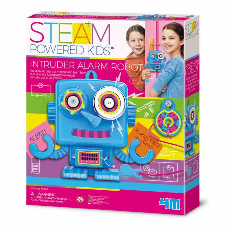 Alarm Robot Maken 4M Met Alarm Girls Meisjes Ontdekken Bouwen Creatief Leuk Speels 4msp-5604900