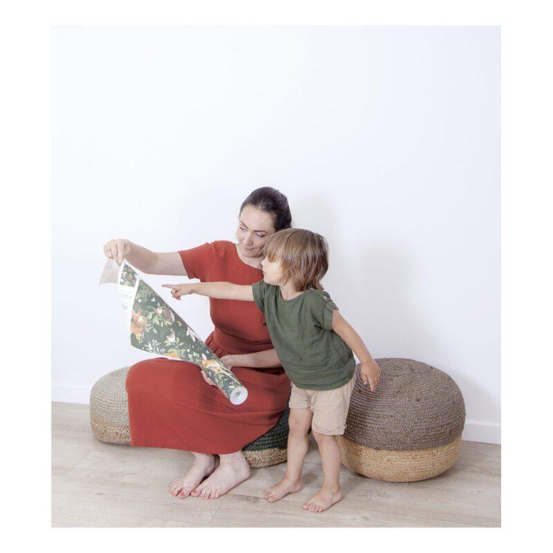 Behang Bosdieren Donker Forest Lilipinso Style Kamer Uniek Bijzonder QIDDIE.com lili-H0644-br