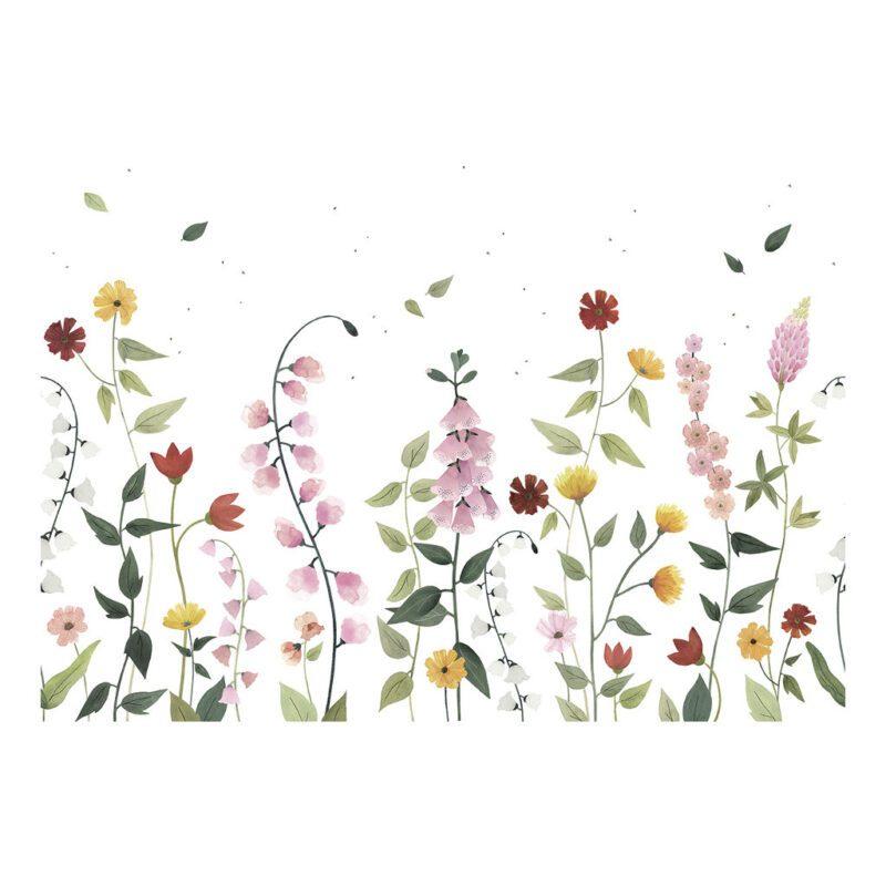 Behang Mooie Mei Maand Queyran Lilipinso Weide Bloem Kleuren Verschillende Planten Bloemen QIDDIE.com Lili-H0649