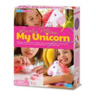Eenhoorn Kussen Maken 4M Haken Samen Kind Kleuter Unicorn Knuffel Girls Meisjes Sint Kerst Kado Tip Cadeau 4msp-5604744