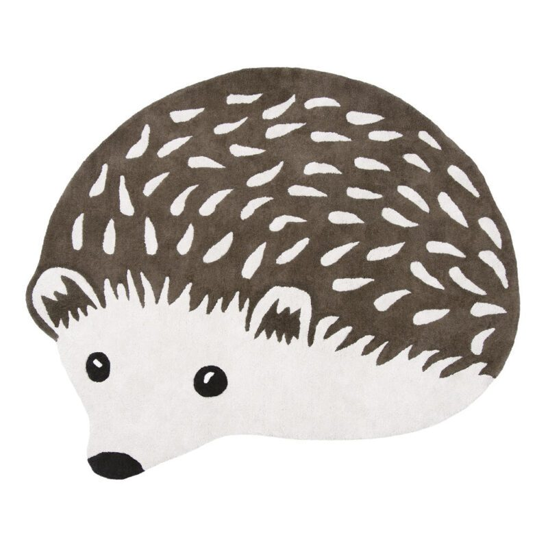 Egel Vloerkleed Forest Lilipinso Schattige Hedgehog Kinder Peuter Baby Speelkamer Vloerkleedje QIDDIE.com lili-H0650