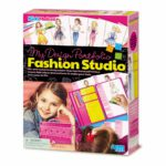 Fashion Studio Maken 4M Modelen Maken Koffer Meenemen Klik Model Kleuren Mode Girls Meisjes Sinterklaas Kerst Kado Cadeau Tip 4msp-5604720